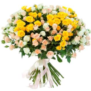 Розы Кустовые микс 2